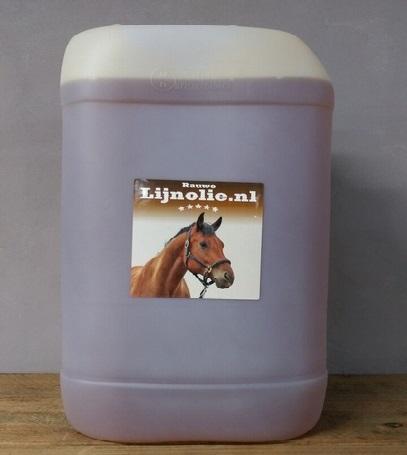 Rauwe lijnolie 20 liter